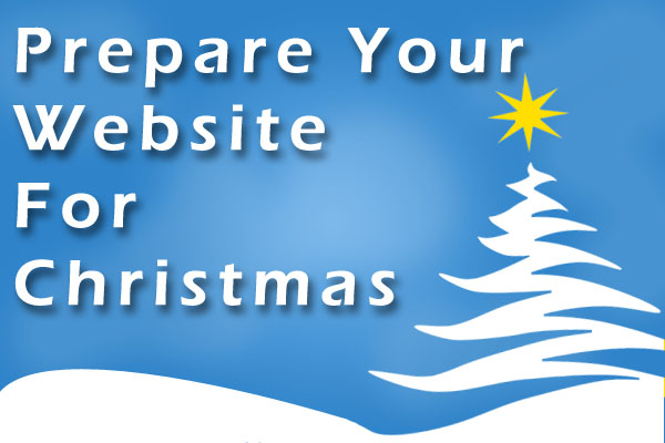 Preparing A Website For Christmas