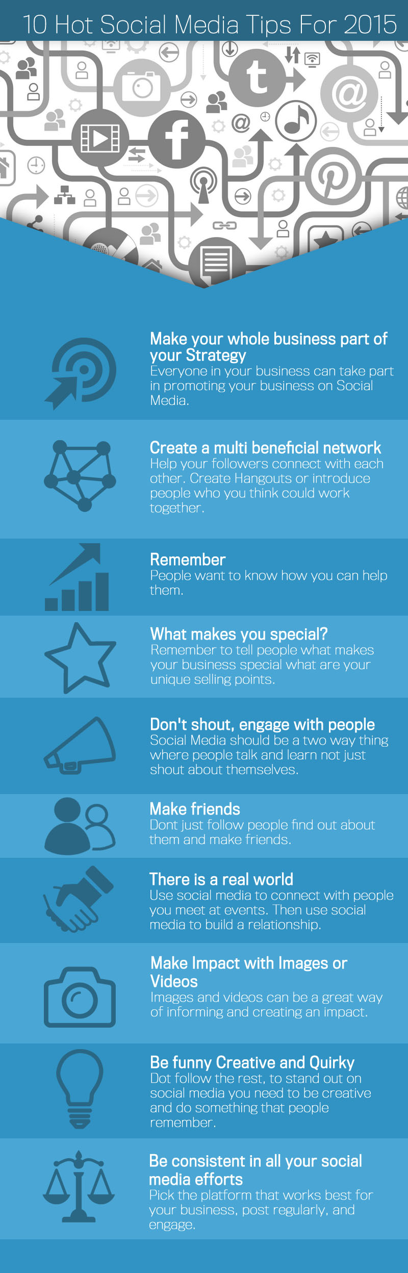 10 tips to make an impact on social media Gikmedia
