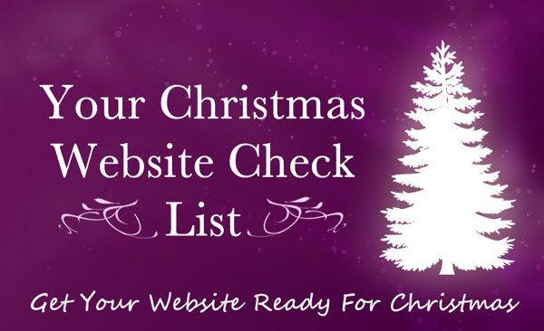 Your Christmas Website Check List