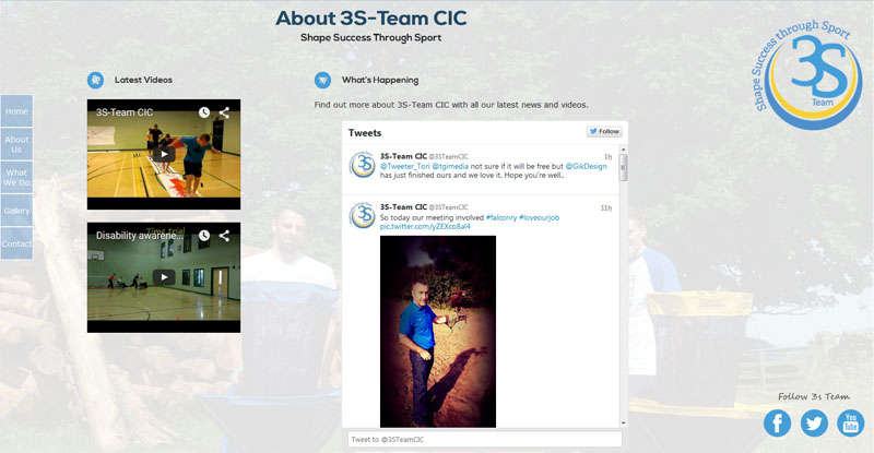 3S Team About Us Page