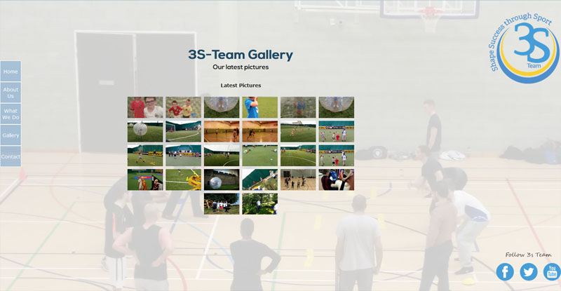 3S Team Gallery Page
