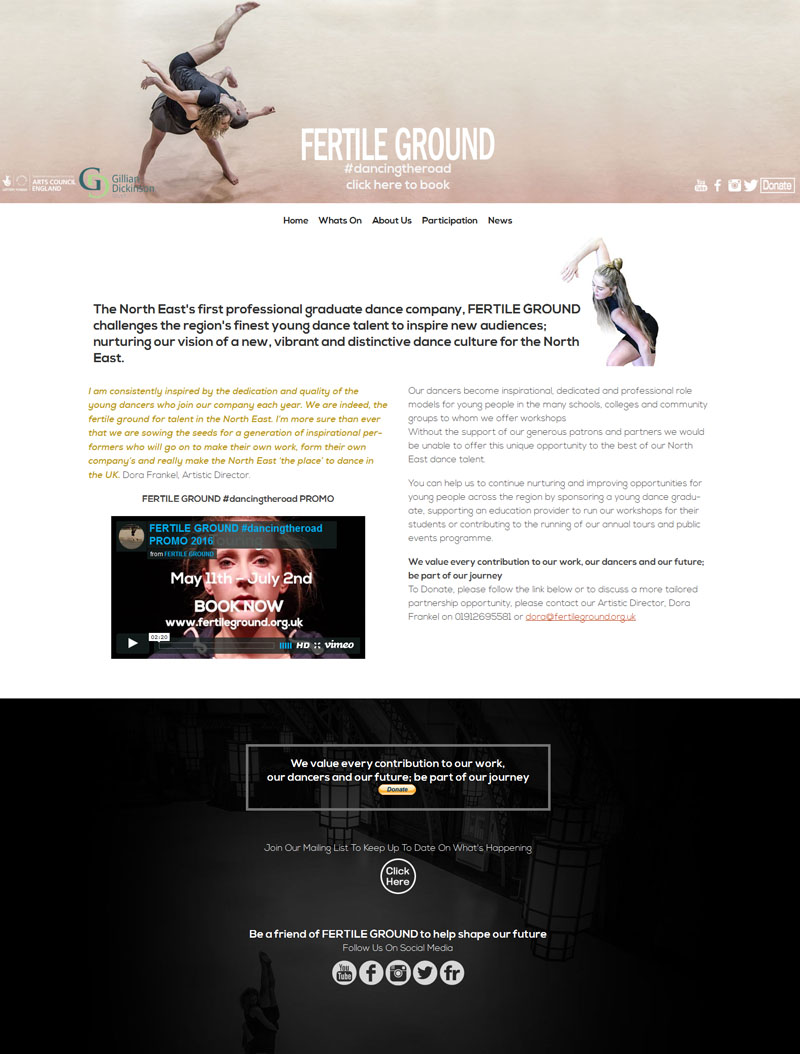 Fertileground Home Page