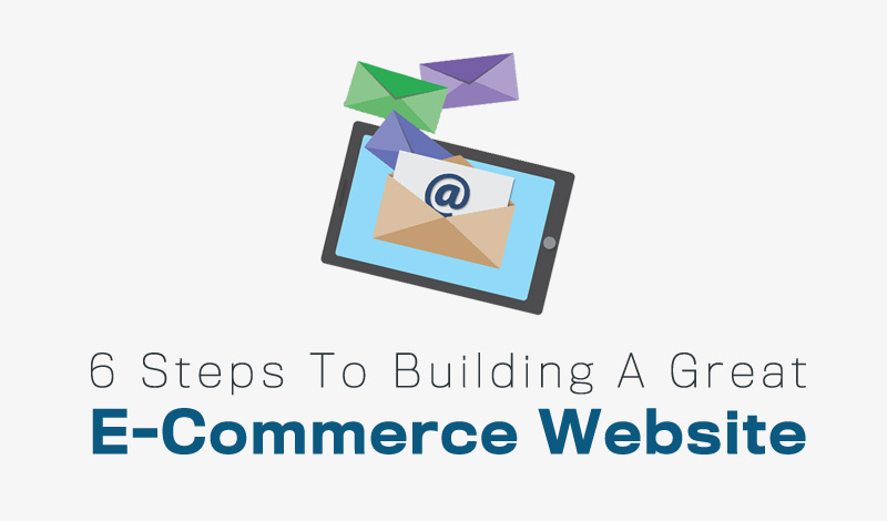 6 Steps To Building A Great E-Commerce Website
