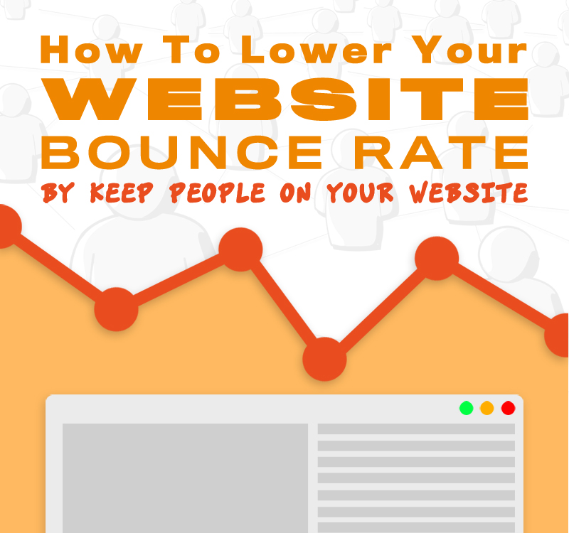 How To Lower Bounce Rate And Keep People On Your Website From Gik Media