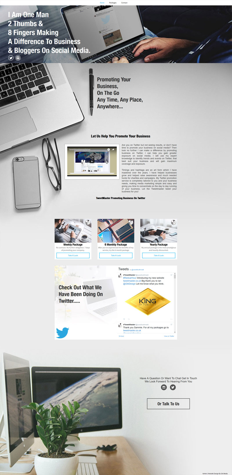 TweetMaster Homepage