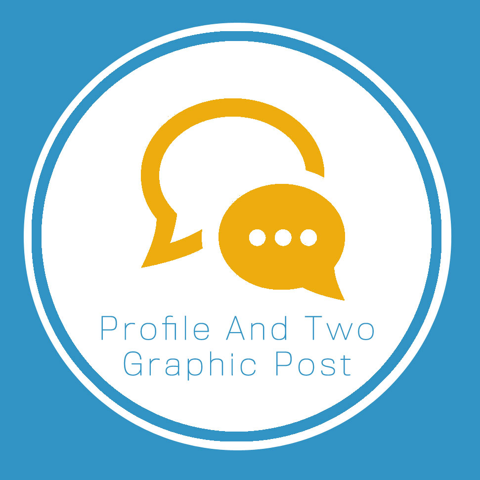 Profile And Two Graphic Post